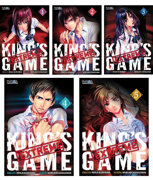 Portadas King's Game Extreme